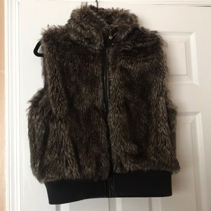 Doll House Fur Vest